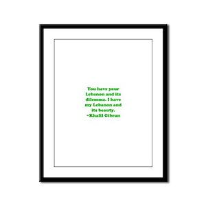 Dilemma Framed Panel Print