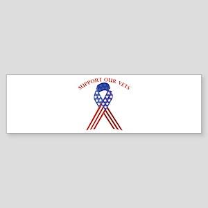 Support Vets Bumper Sticker