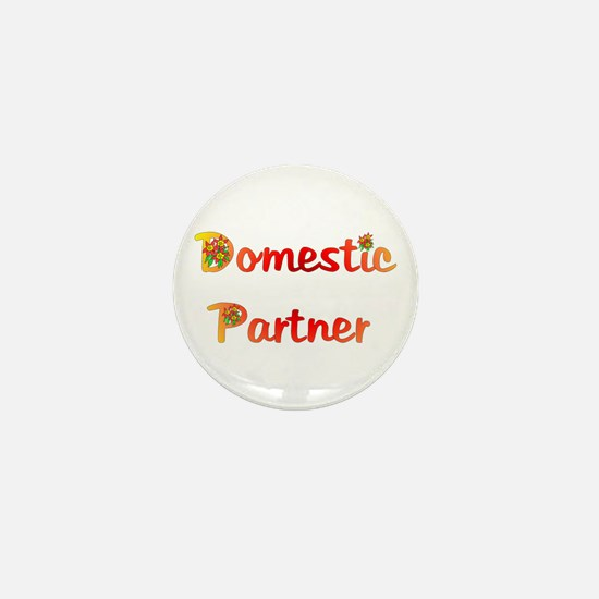 Domestic Partner Mini Button