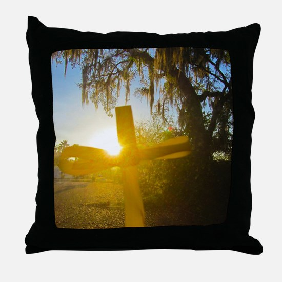 Dawn of Glory Throw Pillow