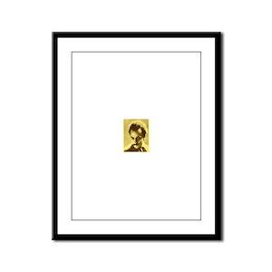 Khalil Gibran Framed Panel Print