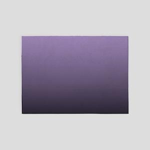 modern purple ombre 5'x7'Area Rug