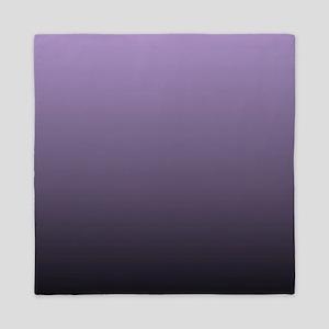 modern purple ombre Queen Duvet