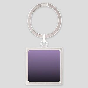 modern purple ombre Keychains