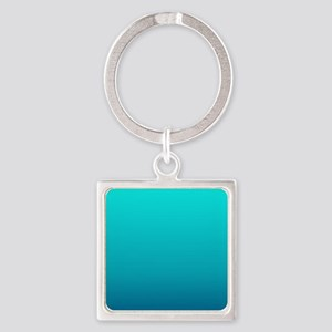 turquoise blue ombre Keychains