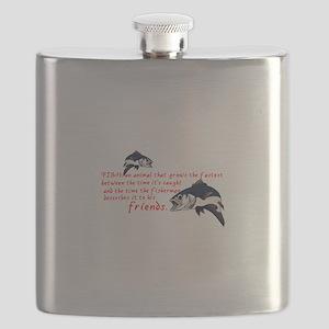 Fish Story Flask
