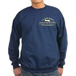Front & Back, Navy Blue Or Blac, Sweatshirt (d