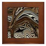Zebra Zone Home Decor Framed Tile