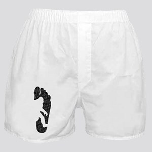 Bigfoot Footprint (Distressed) Boxer Shorts