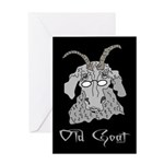 Old Goat Him Greeting Card