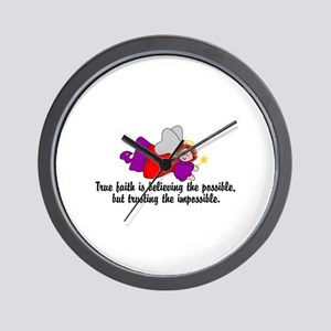 Believe the possible Wall Clock