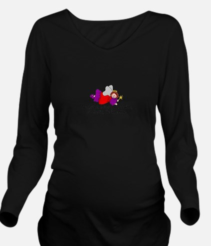 Believe the possible Long Sleeve Maternity T-Shirt