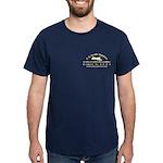 Dark T-Shirt, Choice Of 11 Colors, Front & Bac