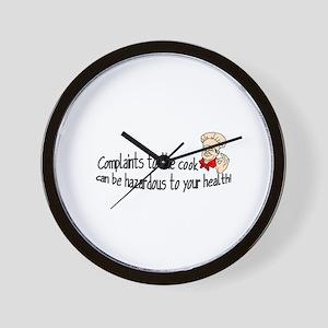 Complaints Wall Clock