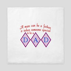 Special Dad Queen Duvet