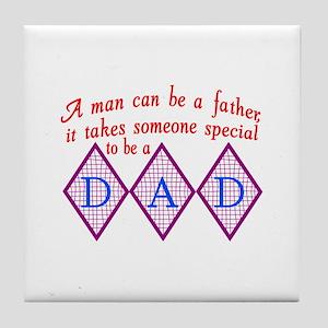 Special Dad Tile Coaster