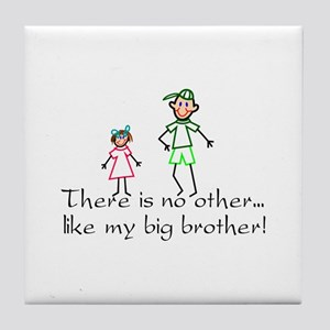 No Other Big Brother Tile Coaster