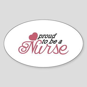 Proud Nurse Sticker