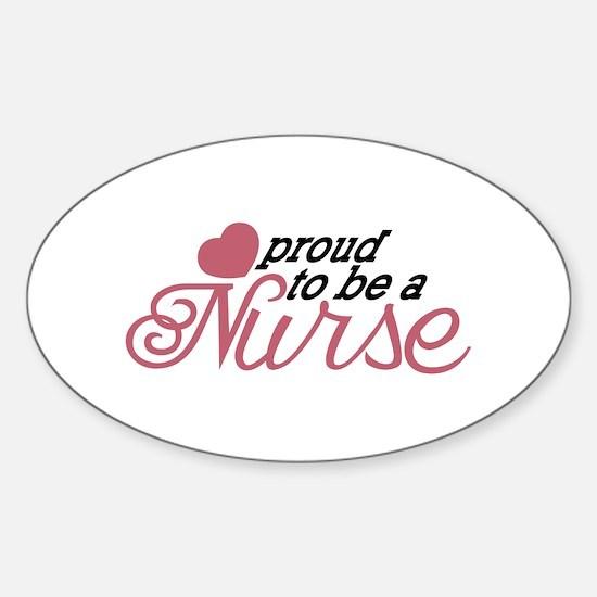 Proud Nurse Decal