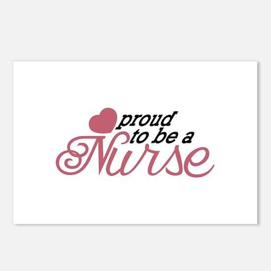 Proud Nurse Postcards (Package of 8)