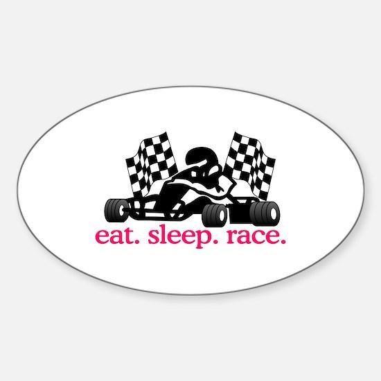 Race (Go Kart) Decal