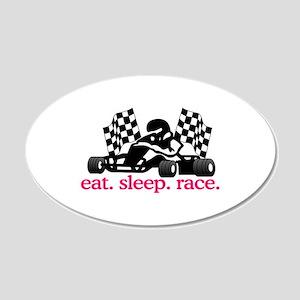 Race (Go Kart) Wall Decal