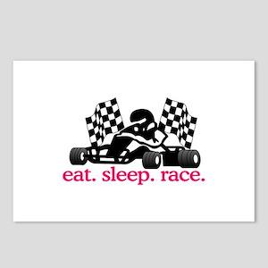 Race (Go Kart) Postcards (Package of 8)
