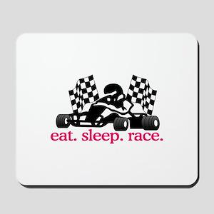 Race (Go Kart) Mousepad