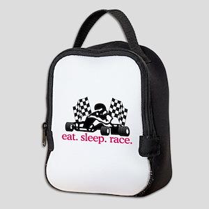 Race (Go Kart) Neoprene Lunch Bag