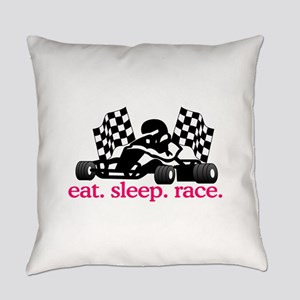 Race (Go Kart) Everyday Pillow