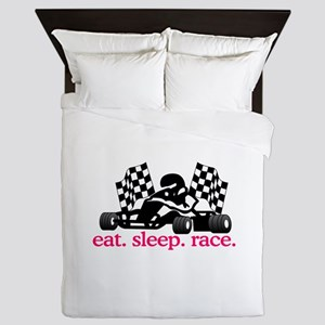 Race (Go Kart) Queen Duvet