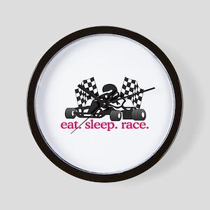 Race (Go Kart) Wall Clock
