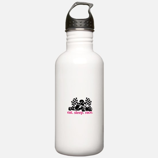 Race (Go Kart) Water Bottle
