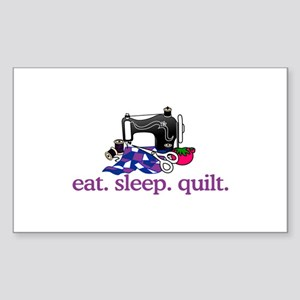 Quilt (Machine) Sticker