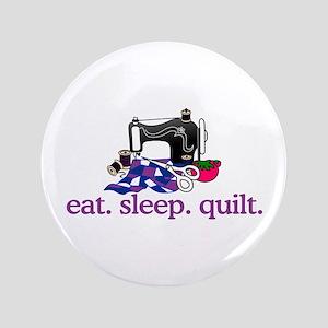 Quilt (Machine) Button