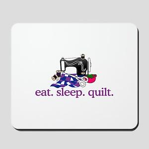 Quilt (Machine) Mousepad