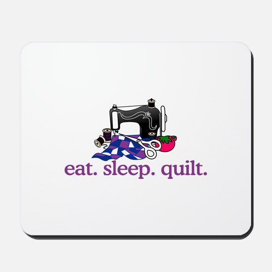 Quilt (Machine) Mousepad