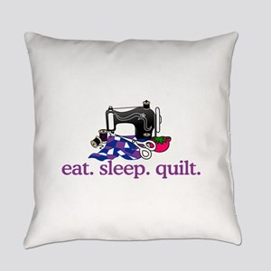 Quilt (Machine) Everyday Pillow