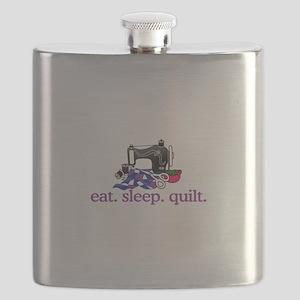 Quilt (Machine) Flask