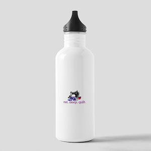 Quilt (Machine) Water Bottle