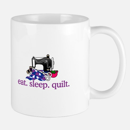 Quilt (Machine) Mugs