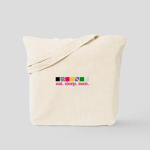 Race (Flags) Tote Bag