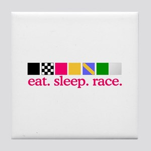 Race (Flags) Tile Coaster