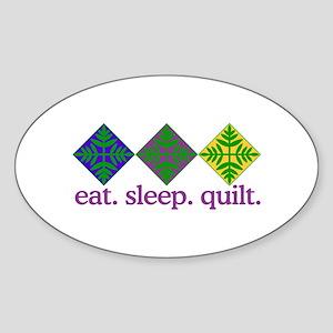 Quilt (Squares) Sticker