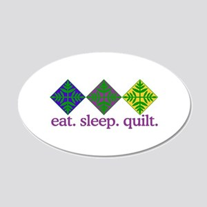 Quilt (Squares) Wall Decal