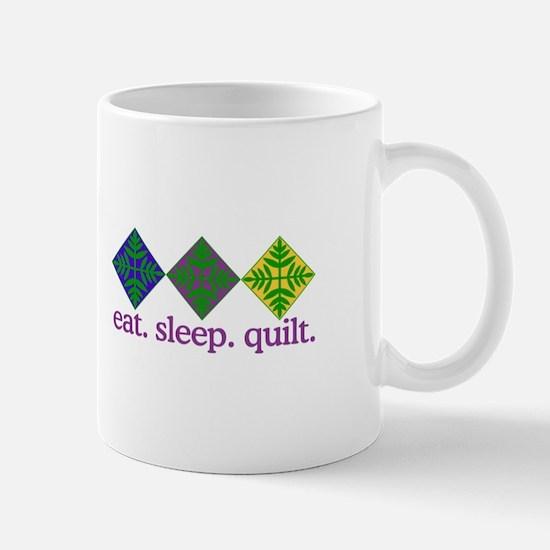 Quilt (Squares) Mugs