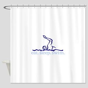 Swim (Swimmer #2) Shower Curtain