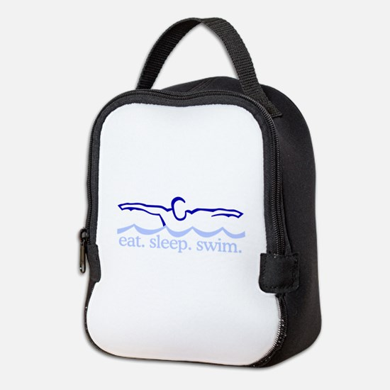 Swim (Swimmer) Neoprene Lunch Bag