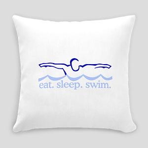 Swim (Swimmer) Everyday Pillow