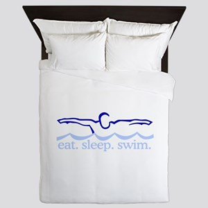 Swim (Swimmer) Queen Duvet